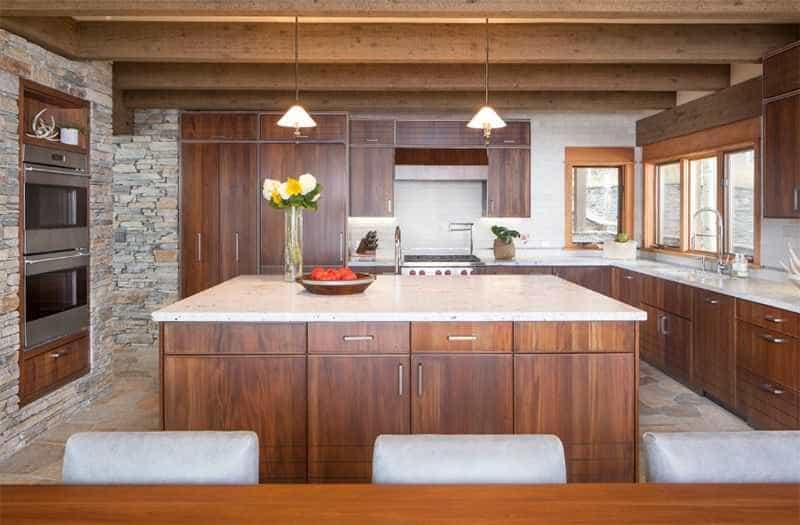 Mẫu nỗi thất phòng bếp hiện đại, sang trọng